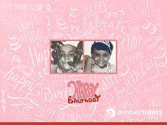 Creative Birthday Photo Album Design