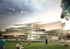 SANAA - Sejima and Nishizawa and Associates wins the design competition for the New National Gallery Ludwig Museum in Budapest over Snøhetta Hotel Architecture, Concept Architecture, Amazing Architecture, Architecture Design, Green Architecture, Japanese Architecture, Budapest City, Budapest Hungary, Ryue Nishizawa