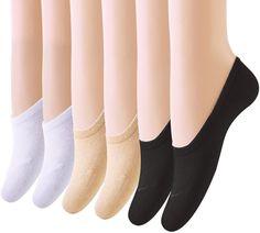 Amandir 12 Pairs Thin Casual No Show Socks, Cotton Socks for Flats, Liner Socks #Amandir #Casual
