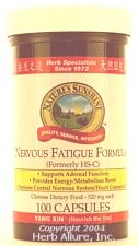 Chinese Nervous Fatigue Formula strengthens the circulatory and nervous systems. It helps take the tension out of the chest. It helps with agitation, anemia, anxiety, back pain, confusion, constipation, decreased libido, depression, dry skin, excessive perspiration, forgetfulness, frequent urination, heart palpitations, high blood pressure, impotence, insomnia, irritability, leg pain, nervous exhaustion, restlessness, and weak digestion. Visit Amy's Herb Store for more information,