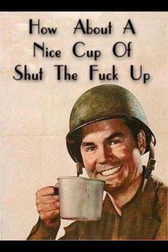 Nice piping hot cup anybody?