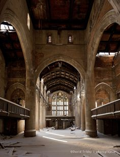 Forgotten Cities, photographs of Gary, Indiana by David Tribby. This is where my parents were married.