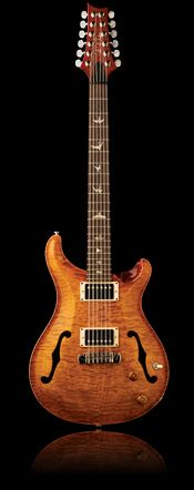 PRS - Hollowbody 12 String, designed by Paul Reed Smith.