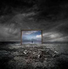 Desolation and Hope   Mid-week Flash Challenge - Hope - Art by Kasia Derwinska