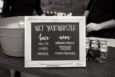 A variety of choices to quench your thirst | Sacred Oaks | Whim Events | Two Fish Photography | Camp Lucy | Wedding Venue | Destination Weddings | Hill Country | Weddings | Wedding Inspiration |
