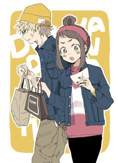 Bakugou Katsuki × Uraraka Ochako    Boku no Hero Academia
