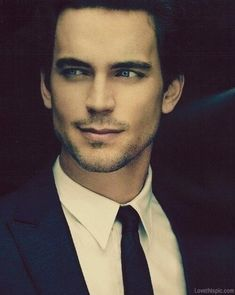 Matt Bomer... More like Matt BONER in mah pants cause you're freaking beautiful and make me all kinds of hot and bothered but I don't really have a dick so yeah... I can trust you're the one out of the two of us with one. Let's put that to use.