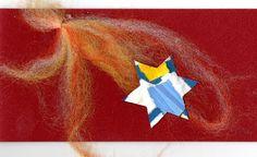 Weihnachtskarte 45 Grösse 9,5 x 19cm