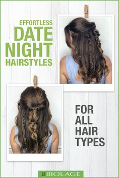 Date night styles or any night styles! Fun braids for any occasion.