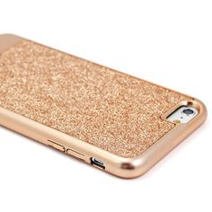 High durability polycarbonate 2 part sparkling rose iPhone 6 case inspired by the most dazzling trends in fashion. Sparkle Fusion gives your device dynamic shim