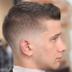 Best short haircut styles for men 2017 from mens haircuts short fade Short Fade Haircut, Boy Haircuts Short, Short Haircut Styles, Hairstyles Haircuts, Stylish Hairstyles, Mens Fade Haircut, Short Styles, Army Haircut, Military Haircuts