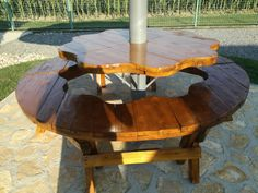 Hand made by Gabrijel HD Outdoor Furniture, Outdoor Decor, Table, Handmade, Home Decor, Hand Made, Decoration Home, Room Decor, Tables