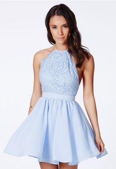 Desaree Backless Puffball Mini Dress - Dresses - Mini Dresses - NOW $53.18 Missguided
