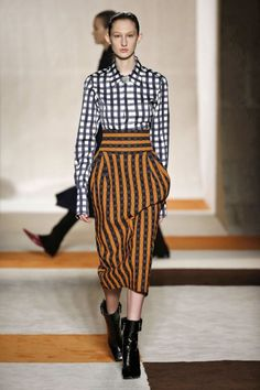 As principais tendências da New York Fashion Week 2016 - NYFW Winter - Semana de Moda de Nova Iorque Inverno - xadrez - Victoria Beckham