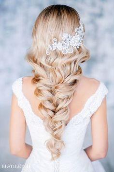 свадебные прически на длинные волосы с накладными прядями