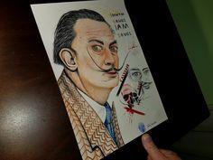 Salvador Dali by billypower_Art