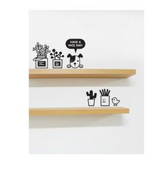 Nice Day Graphic Wall Vinyl Sticker TP008 on Etsy, $6.99