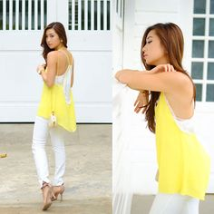 Get this look: http://lb.nu/look/6569576  More looks by Kryz Uy: http://lb.nu/kryz  Items in this look:  Sheinside Top   #chic