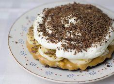 Rezept für köstliche Banoffee-Pies mit Oreo-Boden und Karamellcreme