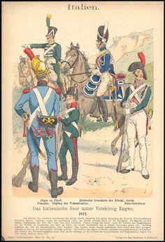 Knotel - Uniformenkunde Knotel Italie nepal espagne suede - Les costumes militaires -