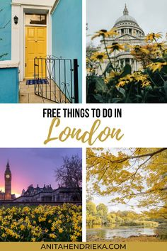 If you're looking for a great London travel guide that gives you the best tips and places to visit in London for your London trip then look no further. In this blog post, I cover the best free London travel places that you really cannot miss on your uk travel adventure. Click the link to read about the 30 must-see places to visit in London! Montenegro Travel, Albania Travel, Ireland Travel, Italy Travel, Europe Travel Outfits, Europe Travel Guide, Things To Do In London, London Travel, Cool Places To Visit