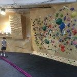 Training Area Upstairs  @cruxcc in Austin #climbinggymreviews