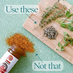 When your recipe calls for seasoning salt, use salt-free dried herb blends, fresh herbs, garlic or fresh peppers.