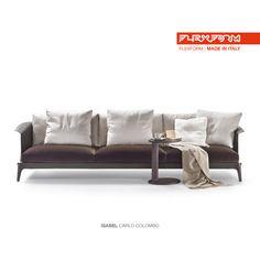 #FLEXFORM ISABEL sofa #design Carlo Colombo