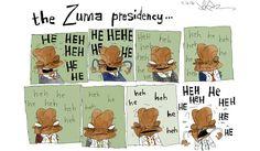 Cartoon: The Zuma presidency, in eight easy laughs