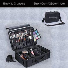 Cosmetic Bag Makeup Bag Travel Makeup Organizer Cosmetics Pouch Bag High Quality Make Up Bag Professional Cosmetic Makeup Case