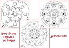 Mandala da colorare per bambini: semplici e complessi | Genitorialmente