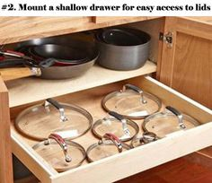 Kitchen plays an important role in your life that not only affects the health of your family, but also is the place where entertaining guests. So a tidy and well organized kitchen is of great concern. But if you store your pots and pans with the lids on them, they won't stay that way for […]