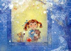 Мобильный LiveInternet Художник-иллюстратор Екатеринa Бабок. | Коша_рыжая - Дневник Коша_рыжая |