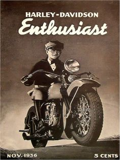 1936 Harley Davidson Enthusiast Magazine | Flickr - Photo Sharing!