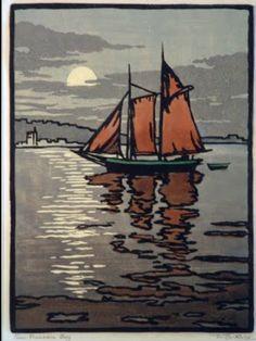 San Francisco Bay - William Seltzer Rice (1873-1963)
