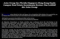 Das Leitbild der Aztec Group  Da Aztec Group seinen Betrieb im Jahr 1981 begann, hat es die gleichen Ziele erhalten, die es gesetzt hat, um im Namen seiner institutionellen und unternehmerische Immobilienkunden  #AztecGroupIncFloridaSingaporeHongKongKualaLumpurRealEstateInvestmentsReview  Lesen Sie mehr:  http://www.aztecgroup.com/