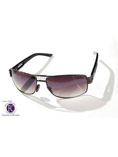 Buy Designer Unisex Sunglasses Gunmetal Metallic Frame Gradient Gray Lens • GujaratMall.com