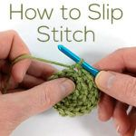 How to Slip Stitch - a video tutorial from Shiny Happy World