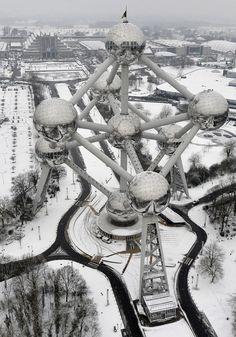 Atomium..Brussels, Belgium