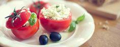 Paradajky plnené tvarohom a syrom Vegetables, Cooking, Food, Kitchen, Essen, Vegetable Recipes, Meals, Yemek, Brewing