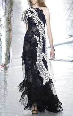 Rodarte Spring Summer 2016 Look 34 on Moda Operandi