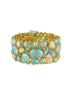 Gorgeous opals by Paula Crevoshay