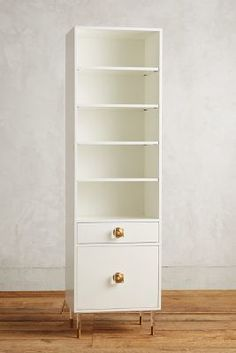 Tracey Boyd Lacquered Regency Bath Cabinet #anthroregistry