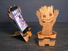 Dancing Baby Groot - Guardians Of The Galaxy Universal Smart Phone Stand iPhone Dock - Fits iPhone 6, iPhone Plus, iPhone 5 or 4, Android door PhoneTastique op Etsy https://www.etsy.com/nl/listing/218154184/dancing-baby-groot-guardians-of-the