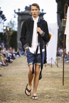 JW Anderson Fashion Show Menswear Collection Spring Summer 2018 in Pitti Uomo Firenze
