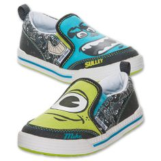 Monster Inc Shoes for Toddlers | ... toddler stride rite monsters inc slipon shoes your little one will