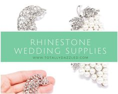 Click here to bling out your wedding at a price you can afford! www.totallydazzled.com