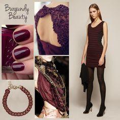 Burgundy Beauty! Trend fall 2014.