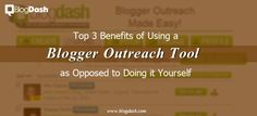 We want to give you 3 good reasons on why to use a Blogger Outreach Tool to conduct your blogger outreach campaigns. Read this article now and find out!