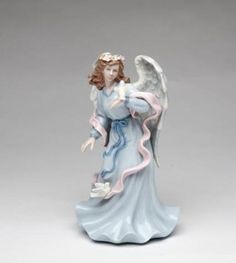 Cosmos 80086 Fine Porcelain Angel Holding Dove Musical Figurine, 8-Inch http://www.amazon.com/Cosmos-80086-Porcelain-Holding-Figurine/dp/B001RQY4TY/ref=pd_bxgy_hg_img_y